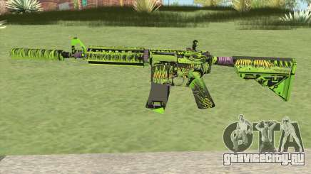 M4A4 Toxicator (CS:GO) для GTA San Andreas