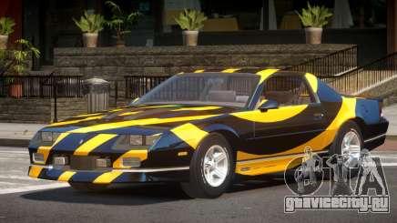 Chevrolet Camaro IR PJ3 для GTA 4