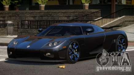 Koenigsegg CCXR TI для GTA 4