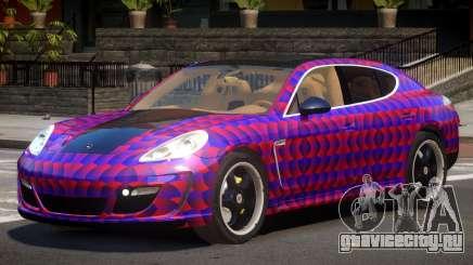 Porsche Panamera ML PJ3 для GTA 4