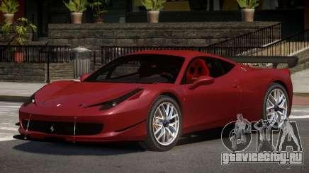 Ferrari 458 Qz для GTA 4