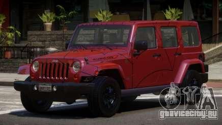 Jeep Wrangler LT PJ5 для GTA 4