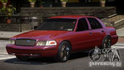 Ford Crown Victoria R-Tuned для GTA 4