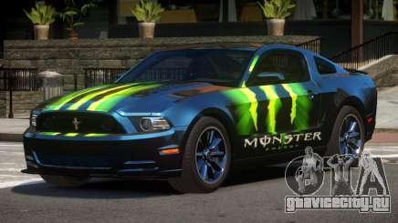 Ford Mustang B-Style PJ5 для GTA 4