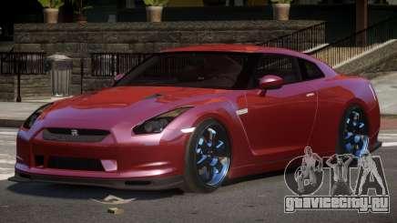 Nissan GTR S-Tuned для GTA 4