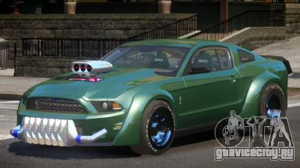 Ford Shelby GT500 Custom для GTA 4