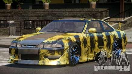 Nissan Silvia S14 R-Tuning PJ2 для GTA 4