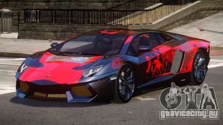 Lamborghini Aventador LP700 RP PJ1 для GTA 4