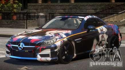 Mercedes SLK55 RG38 PJ3 для GTA 4