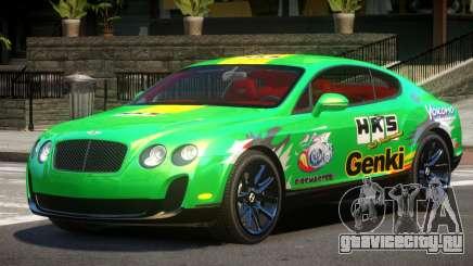 Bentley Continental RT PJ5 для GTA 4
