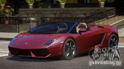 Lamborghini Gallardo LP560 RS для GTA 4