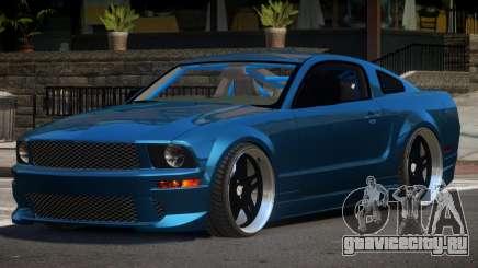 Ford Mustang GT UG98 для GTA 4