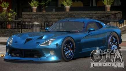 Dodge Viper SRT L-Tuning для GTA 4