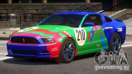 Ford Mustang B-Style PJ1 для GTA 4