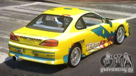 Nissan Silvia S15 M-Sport PJ1 для GTA 4