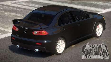 Mitsubishi Lancer X MS для GTA 4