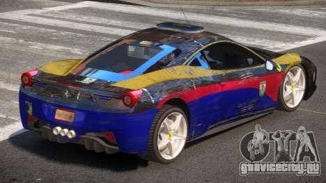 Ferrari 458 SR Police для GTA 4