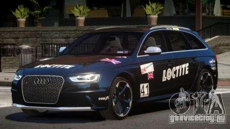 Audi RS4 S-Tuned PJ3 для GTA 4