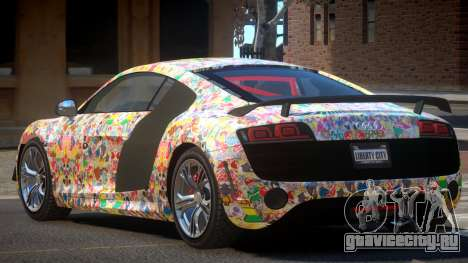 Audi R8 R-Tuned PJ6 для GTA 4