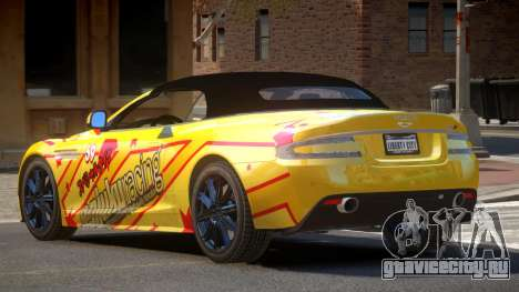 Aston Martin DBS Volante SR PJ5 для GTA 4