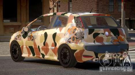 Fiat Punto TR PJ6 для GTA 4