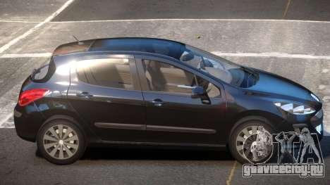 Peugeot 308 RT V1.0 для GTA 4
