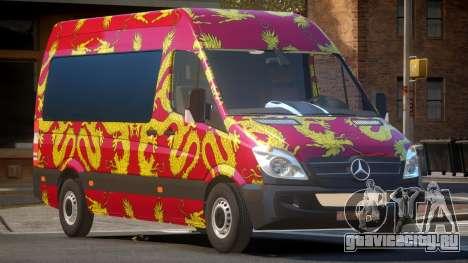 Mercedes Benz Sprinter MR PJ2 для GTA 4