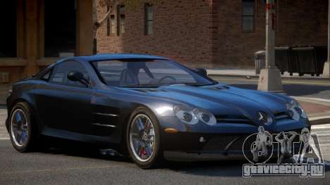 Mercedes Benz SLR A-Style для GTA 4