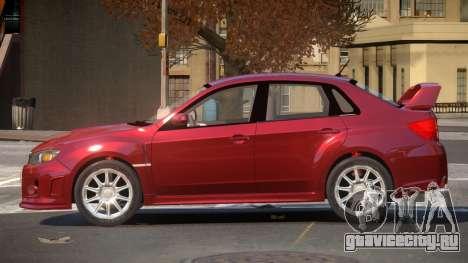 Subaru Impreza WRX S-Tuning для GTA 4