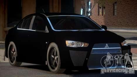 Mitsubishi Lancer X RT для GTA 4