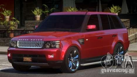 Range Rover Sport TR для GTA 4