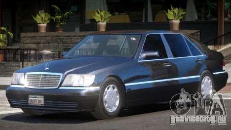 Mercedes Benz S600 V1.3 для GTA 4