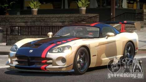 Dodge Viper SRT M-Sport PJ2 для GTA 4