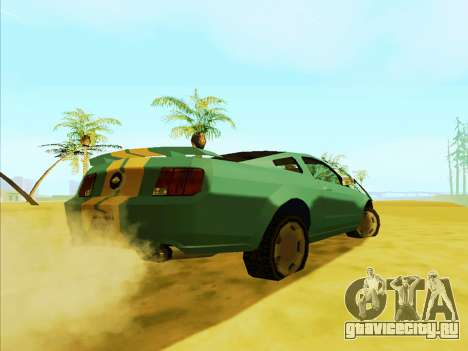 Ford Mustang 2005 (SA Style) для GTA San Andreas