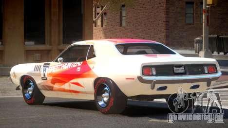 1969 Plymouth Cuda GT PJ2 для GTA 4