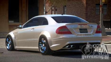 Mercedes Benz CLK63 GT для GTA 4