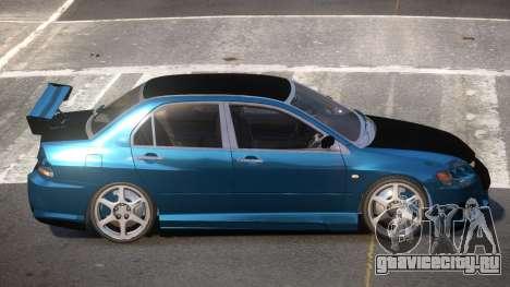 Mitsubishi Lancer 8 L-Tuned для GTA 4