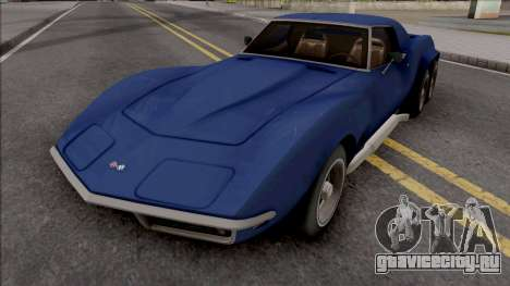 Chevrolet Corvette C3 Pickup для GTA San Andreas