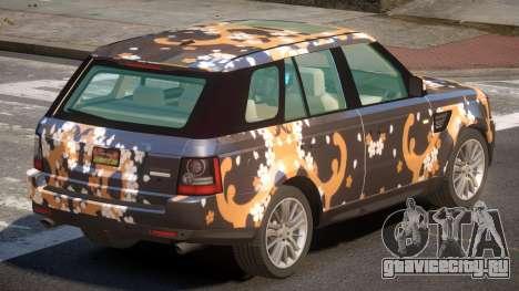 Range Rover Sport SL PJ2 для GTA 4