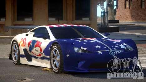 Lexus LFA R-Style PJ6 для GTA 4