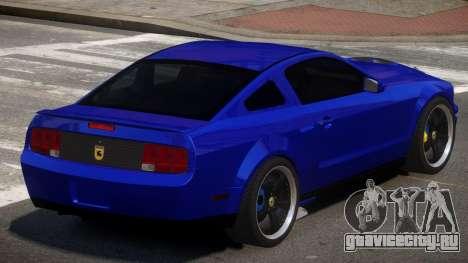 Ford Mustang G-Tuned для GTA 4