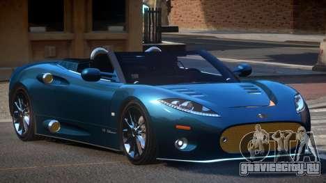 Spyker C8 R-Tuned для GTA 4
