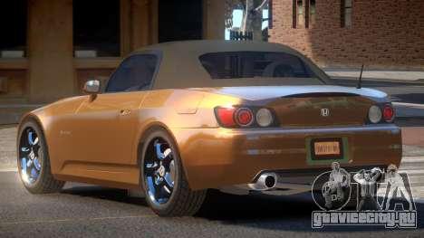 Honda S2000 TR для GTA 4