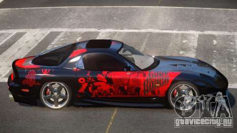 Mazda RX7 PSR PJ2 для GTA 4