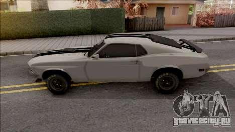 Ford Mustang Boss 320 1970 [RHA] 1.1 для GTA San Andreas