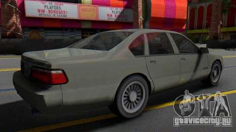 Chevrolet Impala Classic Edition 1996 для GTA San Andreas