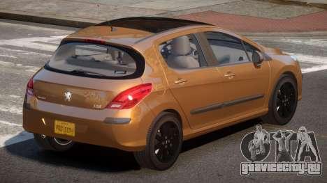 Peugeot 308 RT V1.3 для GTA 4