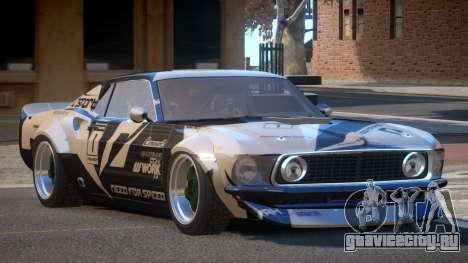 Ford Mustang TR Custom PJ6 для GTA 4