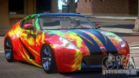 Nissan 370Z TR PJ6 для GTA 4