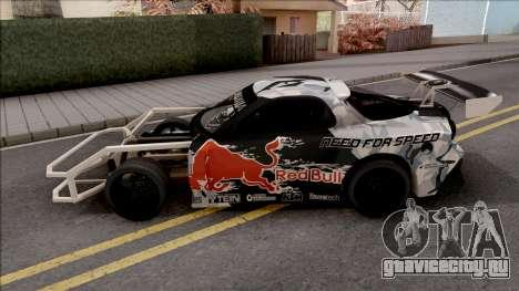 Mazda RX-7 GTR Redbull для GTA San Andreas